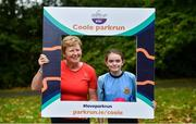 5 October 2019; Parkrun Ireland in partnership with Vhi, added a new parkrun on Saturday, 5th October, with the introduction of the Coole parkrun, in Coole Demesne, Co. Galway. Parkruns take place over a 5km course weekly, are free to enter and are open to all ages and abilities, providing a fun and safe environment to enjoy exercise. Pictured are, Ann Collins, Clare and Saoirse Talty, Ballyea. To register for a parkrun near you visit www.parkrun.ie. Photo by Ray Ryan/Sportsfile