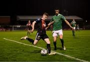4 October 2019; Ross Tierney of Bohemians in action against Shane Griffin of Cork City during the SSE Airtricity League Premier Division match between Bohemians and Cork City at Dalymount Park in Dublin. Photo by Stephen McCarthy/Sportsfile
