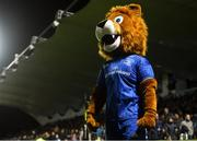 4 October 2019; Leo the Lion during the Guinness PRO14 Round 2 match between Leinster and Ospreys at the RDS Arena in Dublin. Photo by Harry Murphy/Sportsfile