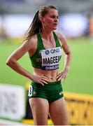 5 October 2019; Ciara Mageean of Ireland after competing in the Women's 1500m Final during day nine of the 17th IAAF World Athletics Championships Doha 2019 at the Khalifa International Stadium in Doha, Qatar. Photo by Sam Barnes/Sportsfile