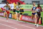 5 October 2019; Ciara Mageean of Ireland, second from left, on her way to the finishing the Women's 1500m Final during day nine of the 17th IAAF World Athletics Championships Doha 2019 at the Khalifa International Stadium in Doha, Qatar. Photo by Sam Barnes/Sportsfile