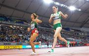 5 October 2019; Ciara Mageean of Ireland competing in the Women's 1500m Final during day nine of the 17th IAAF World Athletics Championships Doha 2019 at the Khalifa International Stadium in Doha, Qatar. Photo by Sam Barnes/Sportsfile