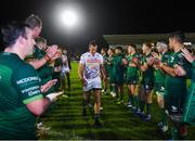 5 October 2019; Ian Keatley of Benetton leaves the field following the Guinness PRO14 Round 2 match between Connacht and Benetton at The Sportsground in Galway. Photo by Harry Murphy/Sportsfile