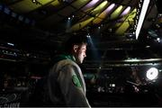 5 October 2019; Joe Ward prior to his Light Heavy bout with Marc Delgado at Madison Square Garden in New York, USA. Photo by Ed Mulholland/Matchroom Boxing USA via Sportsfile