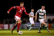 5 October 2019; Kris Twardek of Sligo Rovers during the SSE Airtricity League Premier Division match between Sligo Rovers and Shamrock Rovers at The Showgrounds in Sligo. Photo by Stephen McCarthy/Sportsfile