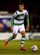 5 October 2019; Graham Burke of Shamrock Rovers during the SSE Airtricity League Premier Division match between Sligo Rovers and Shamrock Rovers at The Showgrounds in Sligo. Photo by Stephen McCarthy/Sportsfile