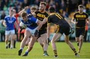 6 October 2019; Kieran Doherty of Naomh Conaill in action against Eamon Doherty of St Eunan's during the Donegal County Senior Club Football Championship semi-final match between St Eunan's and Naomh Conaill at MacCumhaill Park in Ballybofey, Donegal. Photo by Oliver McVeigh/Sportsfile