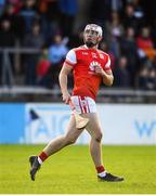 6 October 2019; Con O'Callaghan of Cuala watches his point during the Dublin County Senior Club Hurling Championship semi-final match between St Vincents and Cuala at Parnell Park in Dublin. Photo by David Fitzgerald/Sportsfile