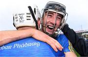6 October 2019; Diarmuid Byrnes of Patrickswell, right, celebrates with team-mate Aaron Gillane after the Limerick County Senior Club Hurling Championship Final match between Na Piarsaigh and Patrickswell at LIT Gaelic Grounds in Limerick. Photo by Piaras Ó Mídheach/Sportsfile