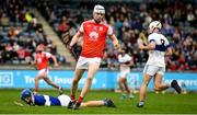6 October 2019; Colm Cronin of Cuala after scoring his side's third goal during the Dublin County Senior Club Hurling Championship semi-final match between St Vincents and Cuala at Parnell Park in Dublin. Photo by David Fitzgerald/Sportsfile