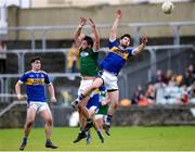 6 October 2019; Odhrán Mac Niallais of Gaoth Dobhair in action against Ryan McHugh of Kilcar during the Donegal County Senior Club Football Championship semi-final match between Kilcar and Gaoth Dobhair at MacCumhaill Park in Ballybofey, Donegal. Photo by Oliver McVeigh/Sportsfile