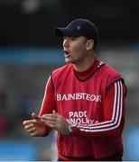 6 October 2019; Cuala manager Willy Maher during the Dublin County Senior Club Hurling Championship semi-final match between St Vincents and Cuala at Parnell Park in Dublin. Photo by David Fitzgerald/Sportsfile