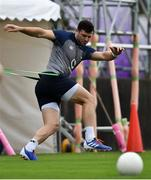 7 October 2019; Robbie Henshaw during Ireland Rugby squad training session at Shirouzuoike Park in Fukuoka, Japan. Photo by Brendan Moran/Sportsfile