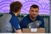 7 October 2019; Tadhg Beirne during Ireland Rugby squad training session at Shirouzuoike Park in Fukuoka, Japan. Photo by Brendan Moran/Sportsfile