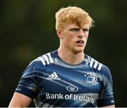 7 October 2019; Tommy O'Brien during Leinster Rugby squad training at Rosemount in UCD, Dublin. Photo by Seb Daly/Sportsfile