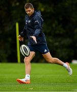 7 October 2019; Ross Byrne during Leinster Rugby squad training at Rosemount in UCD, Dublin. Photo by Seb Daly/Sportsfile