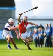 6 October 2019; Con O'Callaghan of Cuala in action against Mark O'Farrell of St Vincents during the Dublin County Senior Club Hurling Championship semi-final match between St Vincents and Cuala at Parnell Park in Dublin. Photo by David Fitzgerald/Sportsfile