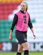 7 October 2019; Louise Quinn during a Republic of Ireland Women's team training session at Tallaght Stadium in Tallaght, Dublin.  Photo by Piaras Ó Mídheach/Sportsfile