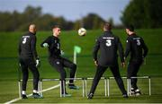 7 October 2019; Mark Travers during a Republic of Ireland training session at the FAI National Training Centre in Abbotstown, Dublin. Photo by Stephen McCarthy/Sportsfile