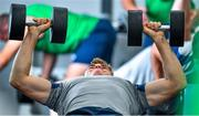 8 October 2019; Garry Ringrose during an Ireland Rugby squad gym session at Shirouzuoike Park in Fukuoka, Japan. Photo by Brendan Moran/Sportsfile