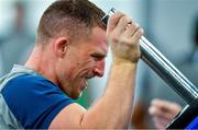 8 October 2019; Andrew Conway during an Ireland Rugby squad gym session at Shirouzuoike Park in Fukuoka, Japan. Photo by Brendan Moran/Sportsfile