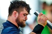 8 October 2019; Andrew Porter during an Ireland Rugby squad gym session at Shirouzuoike Park in Fukuoka, Japan. Photo by Brendan Moran/Sportsfile