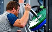 8 October 2019; Sean Cronin during an Ireland Rugby squad gym session at Shirouzuoike Park in Fukuoka, Japan. Photo by Brendan Moran/Sportsfile