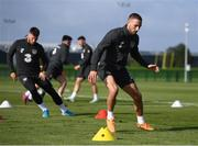 8 October 2019; Conor Hourihane during a Republic of Ireland training session at the FAI National Training Centre in Abbotstown, Dublin. Photo by Stephen McCarthy/Sportsfile