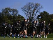 8 October 2019; Players during a Republic of Ireland training session at the FAI National Training Centre in Abbotstown, Dublin. Photo by Stephen McCarthy/Sportsfile