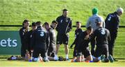 8 October 2019; Republic of Ireland assistant coach Robbie Keane during a Republic of Ireland training session at the FAI National Training Centre in Abbotstown, Dublin. Photo by Stephen McCarthy/Sportsfile