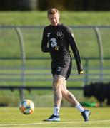 8 October 2019; James McClean during a Republic of Ireland training session at the FAI National Training Centre in Abbotstown, Dublin. Photo by Stephen McCarthy/Sportsfile