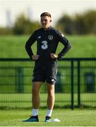 8 October 2019; Dara O'Shea during a Republic of Ireland U21's  Training Session at FAI National Training Centre in Abbotstown, Dublin. Photo by Harry Murphy/Sportsfile