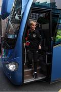 8 October 2019; Republic of Ireland manager Vera Pauw arrives prior to the UEFA Women's 2021 European Championships qualifier match between Republic of Ireland and Ukraine at Tallaght Stadium in Dublin. Photo by Stephen McCarthy/Sportsfile