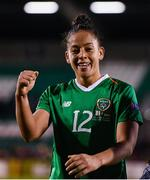 8 October 2019; Rianna Jarrett of Republic of Ireland following the UEFA Women's 2021 European Championships qualifier match between Republic of Ireland and Ukraine at Tallaght Stadium in Dublin. Photo by Stephen McCarthy/Sportsfile