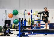 9 October 2019; Sean Maguire during a Republic of Ireland gym session at FAI National Training Centre in Abbotstown, Dublin. Photo by Stephen McCarthy/Sportsfile