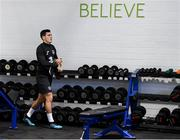 9 October 2019; Josh Cullen during a Republic of Ireland gym session at FAI National Training Centre in Abbotstown, Dublin. Photo by Stephen McCarthy/Sportsfile