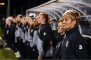 8 October 2019; Republic of Ireland manager Vera Pauw during the UEFA Women's 2021 European Championships qualifier match between Republic of Ireland and Ukraine at Tallaght Stadium in Dublin. Photo by Stephen McCarthy/Sportsfile