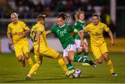8 October 2019; Katie McCabe of Republic of Ireland during the UEFA Women's 2021 European Championships qualifier match between Republic of Ireland and Ukraine at Tallaght Stadium in Dublin. Photo by Stephen McCarthy/Sportsfile