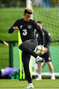 9 October 2019; Callum Robinson during a Republic of Ireland training session at the FAI National Training Centre in Abbotstown, Dublin. Photo by Seb Daly/Sportsfile