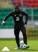 9 October 2019; Michael Obafemi during a Republic of Ireland U21's Training Session at Tallaght Stadium in Dublin. Photo by Harry Murphy/Sportsfile