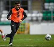 9 October 2019; Troy Parrott during a Republic of Ireland U21's Training Session at Tallaght Stadium in Dublin. Photo by Harry Murphy/Sportsfile