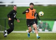 9 October 2019; Sean Maguire during a Republic of Ireland training session at the FAI National Training Centre in Abbotstown, Dublin. Photo by Stephen McCarthy/Sportsfile
