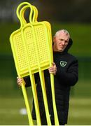 9 October 2019; Republic of Ireland physiotherapist Colin Dunlevy during a Republic of Ireland training session at the FAI National Training Centre in Abbotstown, Dublin. Photo by Stephen McCarthy/Sportsfile