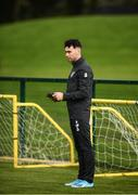 9 October 2019; Republic of Ireland STATSports performance analysist Jason Black during a Republic of Ireland training session at the FAI National Training Centre in Abbotstown, Dublin. Photo by Stephen McCarthy/Sportsfile