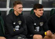 9 October 2019; Jack Taylor, left, and Simon Power during a Republic of Ireland U21's Training Session at Tallaght Stadium in Dublin. Photo by Harry Murphy/Sportsfile