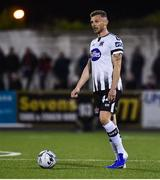 4 October 2019; Andy Boyle of Dundalk during the SSE Airtricity League Premier Division match between Dundalk and Derry City at Oriel Park in Dundalk, Louth. Photo by Ben McShane/Sportsfile
