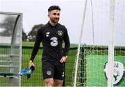 10 October 2019; Sean Maguire during a Republic of Ireland training session at the FAI National Training Centre in Abbotstown, Dublin. Photo by Stephen McCarthy/Sportsfile