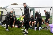 10 October 2019; Mark Travers during a Republic of Ireland training session at the FAI National Training Centre in Abbotstown, Dublin. Photo by Stephen McCarthy/Sportsfile
