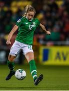 8 October 2019; Megan Connolly of Republic of Ireland during the UEFA Women's 2021 European Championships qualifier match between Republic of Ireland and Ukraine at Tallaght Stadium in Dublin. Photo by Eóin Noonan/Sportsfile