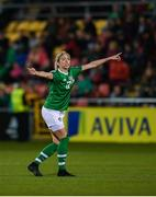 8 October 2019; Niamh Fahey of Republic of Ireland during the UEFA Women's 2021 European Championships qualifier match between Republic of Ireland and Ukraine at Tallaght Stadium in Dublin. Photo by Eóin Noonan/Sportsfile